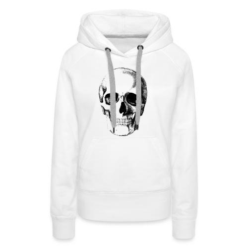 Human Skull - Women's Premium Hoodie