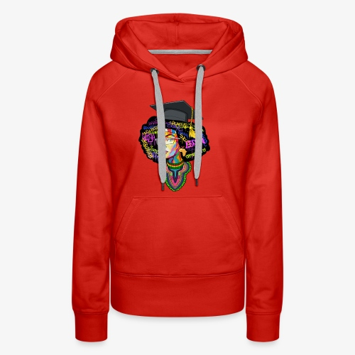 Smart Black Woman - Women's Premium Hoodie