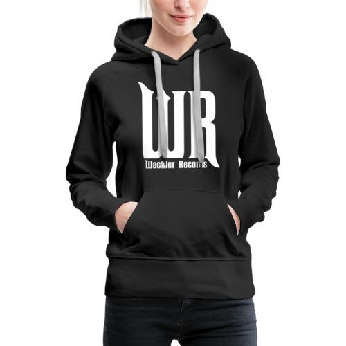 Wachler Records Light Logo - Women's Premium Hoodie