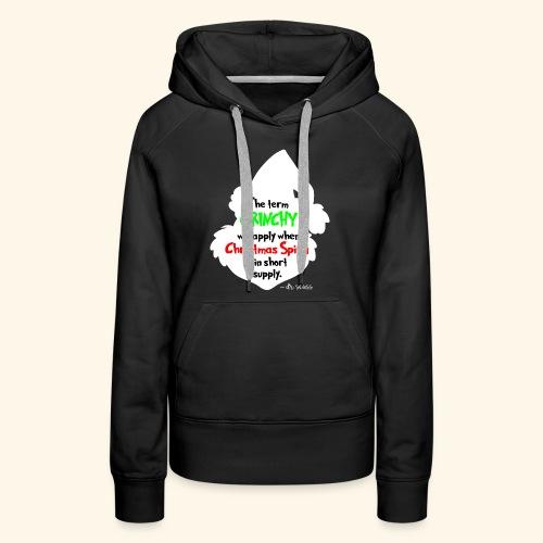 The Term Grinchy - Women's Premium Hoodie