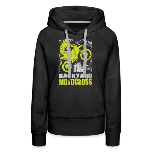 Backyard Motocross Kawasaki - Women's Premium Hoodie