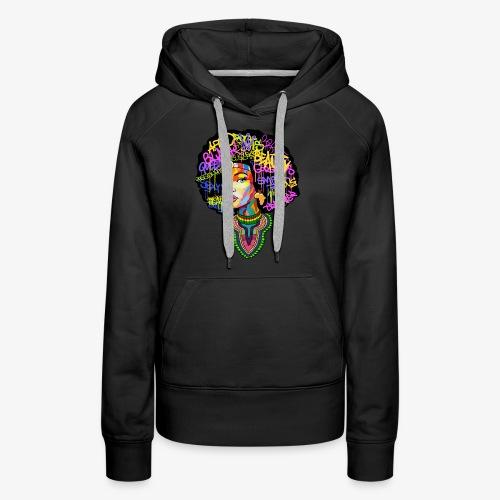 Afro Queen Dashiki - Women's Premium Hoodie