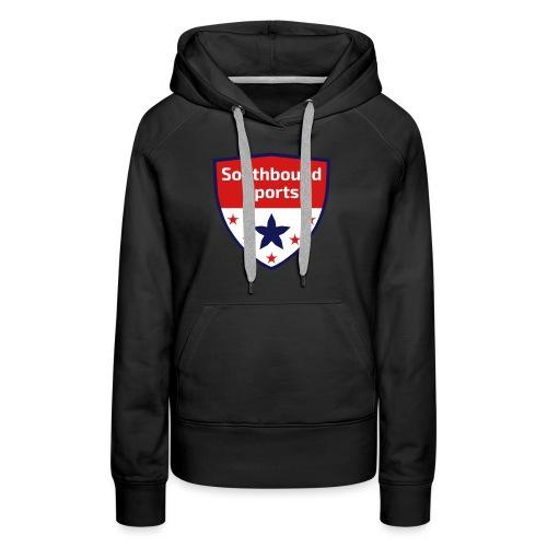 Southbound Sports Crest Logo - Women's Premium Hoodie