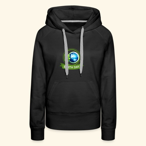 Happy Earth day - 3 - Women's Premium Hoodie