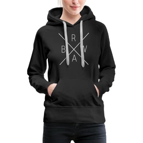 BRWA ShirtX White - Women's Premium Hoodie