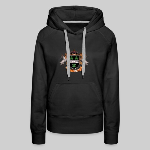 Satanic Heraldry - Coat of Arms - Women's Premium Hoodie