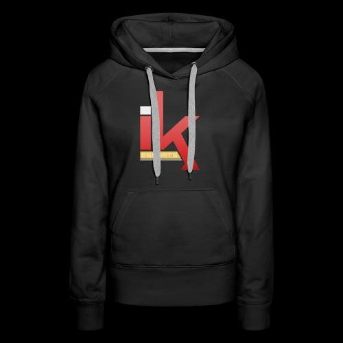 iKronic eSport Red - Women's Premium Hoodie