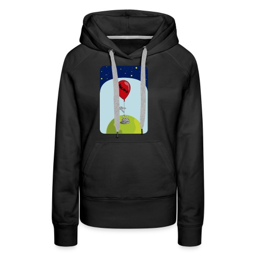 dreams balloon and society 2018 - Women's Premium Hoodie