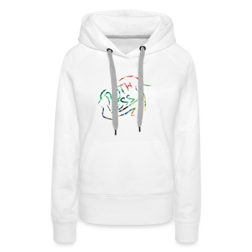 Flower Signature Black - Women's Premium Hoodie