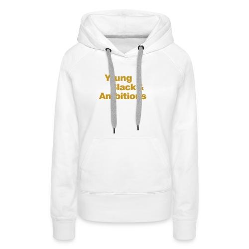 YBA Black and Gold Shirt2 - Women's Premium Hoodie