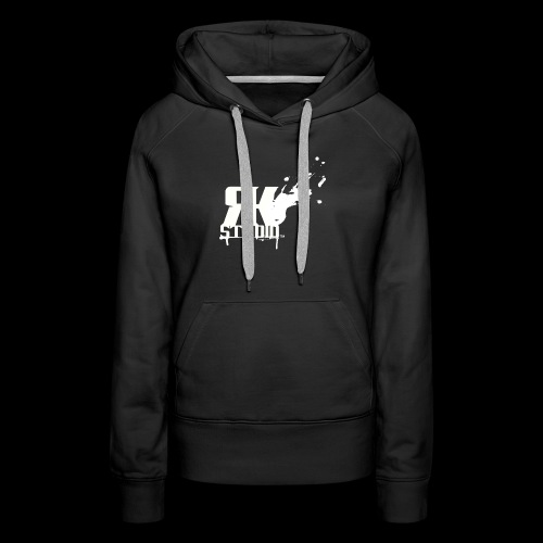 RKStudio White Logo Version - Women's Premium Hoodie