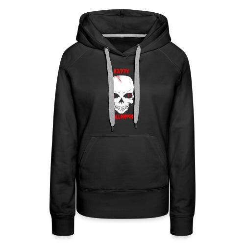 Halloween Skull - Women's Premium Hoodie