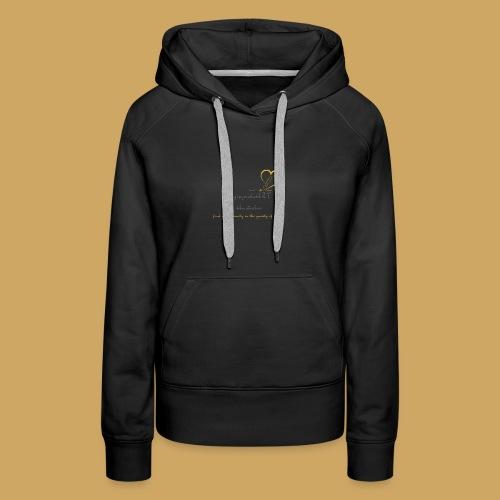 unzipyourheART - Women's Premium Hoodie