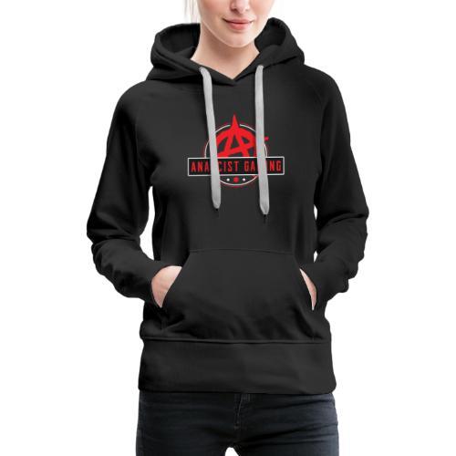 anarcist Gaming Logo - Women's Premium Hoodie