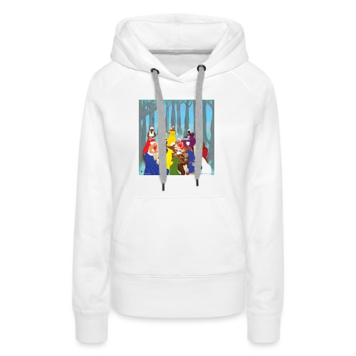 Etheric Touch Healing Ceremony Day time - Women's Premium Hoodie