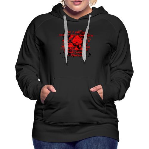 Crazy Joker Girl - Women's Premium Hoodie