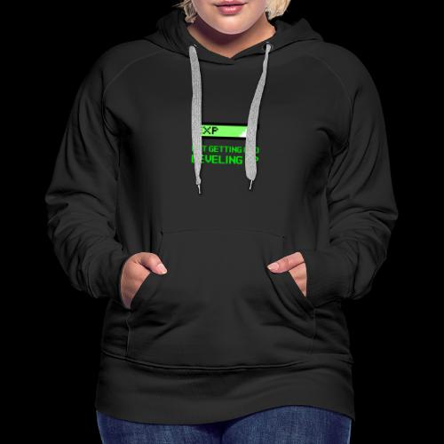 Not Getting Old - Leveling Up - Women's Premium Hoodie