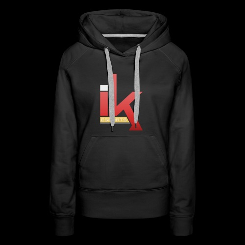 iKronic eSport Red - Women's Premium Hoodie