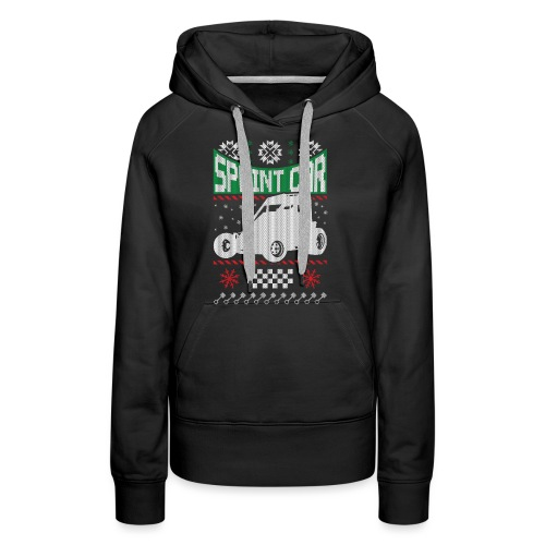 Sprint Car Christmas - Women's Premium Hoodie