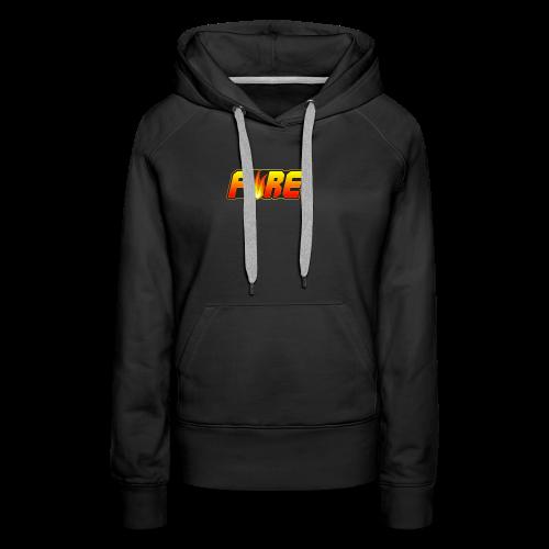 FyRe Logo - Women's Premium Hoodie