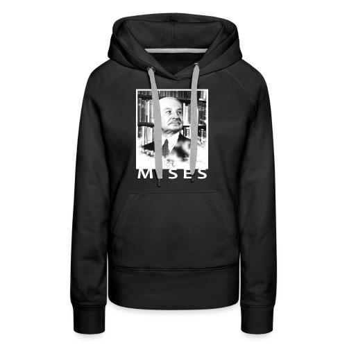 Ludwig von Mises Libertarian Design - Women's Premium Hoodie