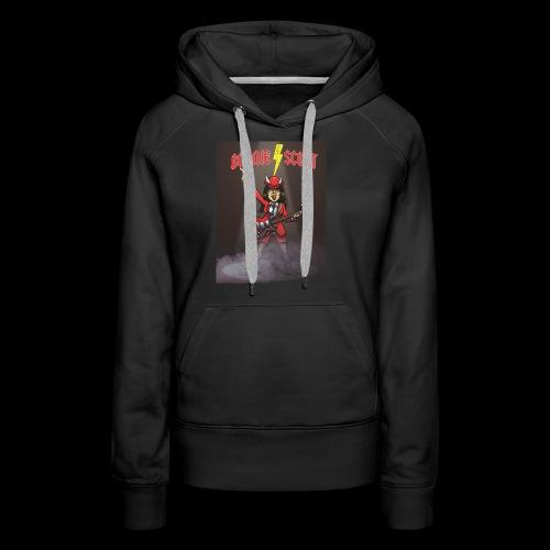 Bonnie Scott Band T Shirt - Women's Premium Hoodie