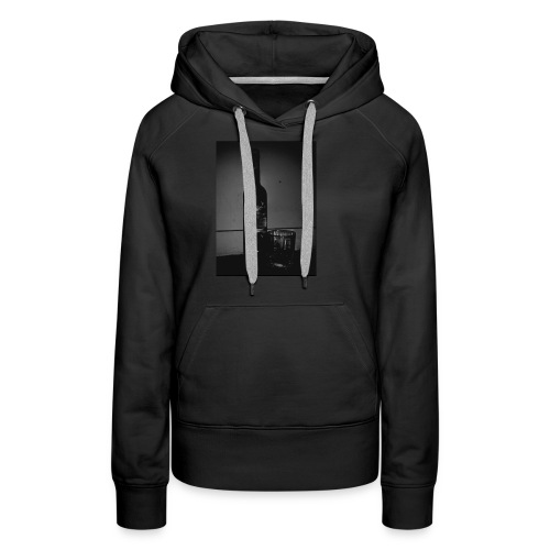 BLACK AND WHITE Grey Goose - Women's Premium Hoodie