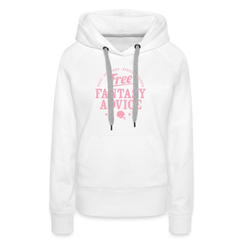 Free Fantasy Football Advice - Women's Premium Hoodie