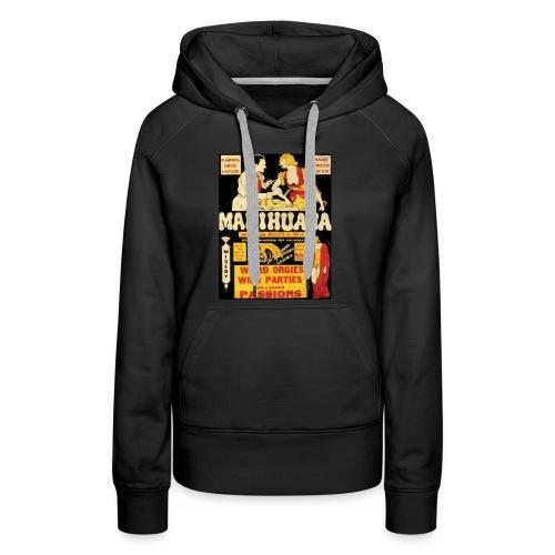 Anti-Marijuana Campaign Shirt - Women's Premium Hoodie