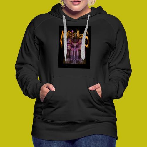 MonsterHeads ~ Purple Bio-Organic Frankenstein's. - Women's Premium Hoodie