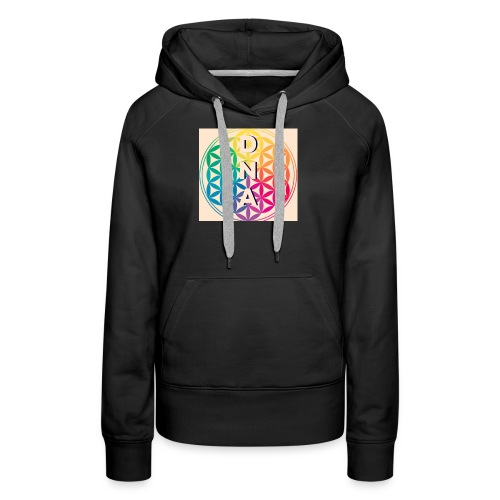 Flower of Life - DNA - Women's Premium Hoodie