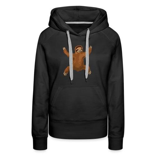 Sloth Love Hug - Women's Premium Hoodie
