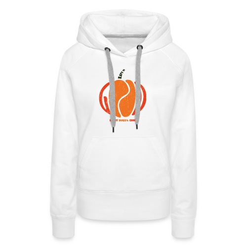 Life Is Really Good Pumpkin - Women's Premium Hoodie
