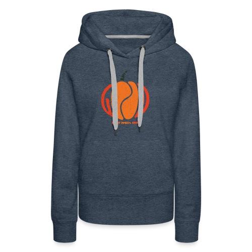 Life Is Really Good Pumpkin - Women's Premium Hoodie
