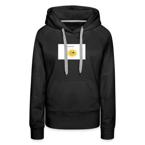 Mathify summer design - Women's Premium Hoodie