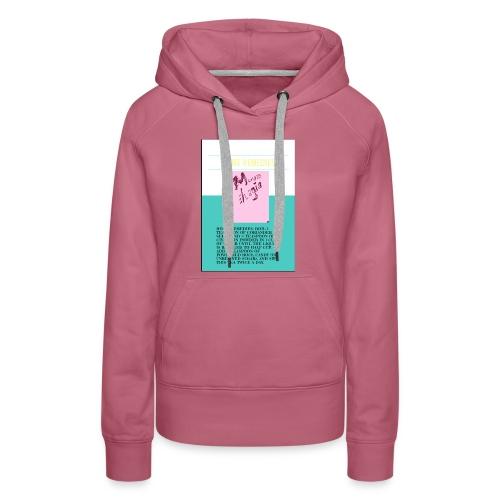 Support.SpreadLove - Women's Premium Hoodie