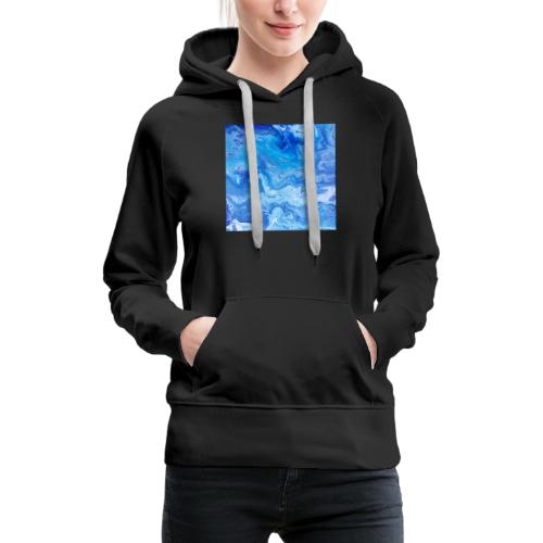 As deep as the ocean and as far as the universe - Women's Premium Hoodie