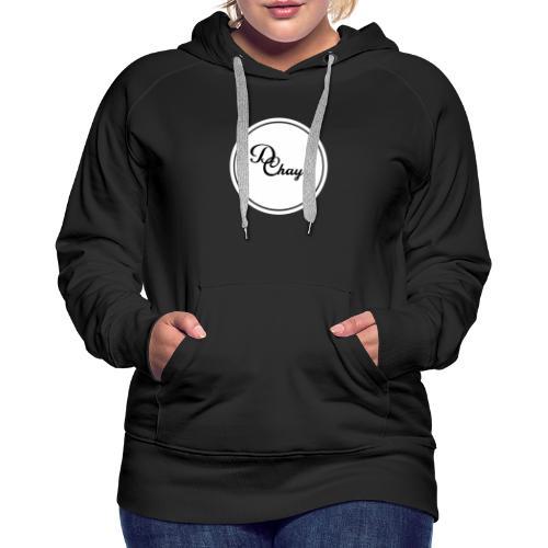 DChay Logo (White) - Women's Premium Hoodie
