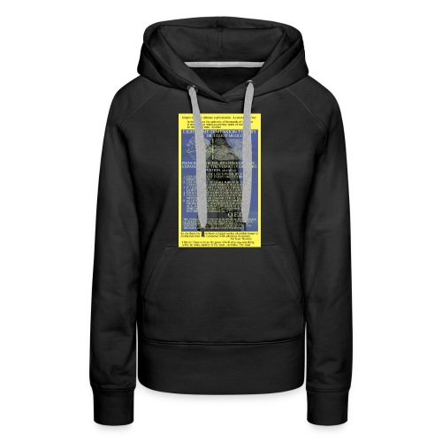 Light Time Dimension Theory: Dr. Elliot McGucken - Women's Premium Hoodie