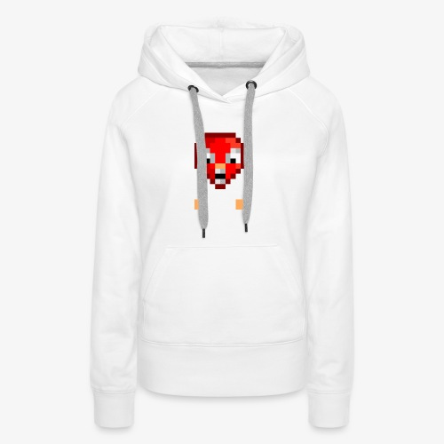 Ouaglo Icon (RED) - Women's Premium Hoodie