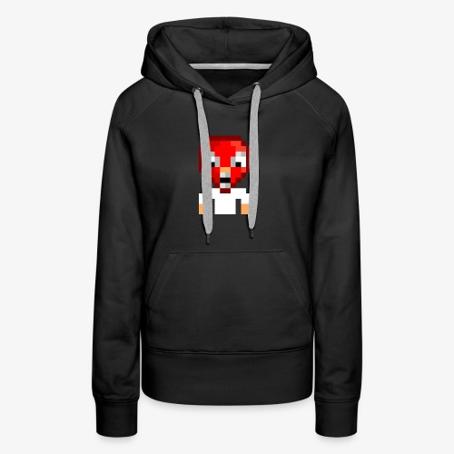 Ouaglo Icon (RED) - Women's Premium Hoodie