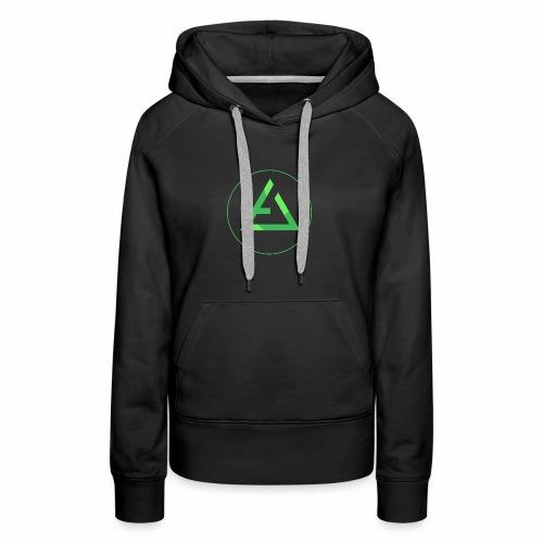 crypto logo branding - Women's Premium Hoodie
