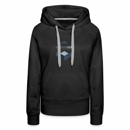KnowledgeFlow Cybersafety Foundation - Women's Premium Hoodie
