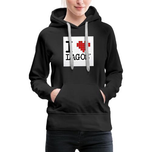 I LOVE LAGOS - Women's Premium Hoodie