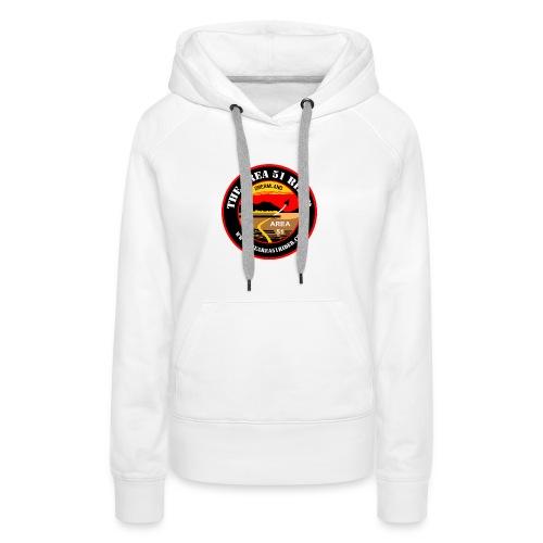 NEW Area 51 Rider Logo - Women's Premium Hoodie