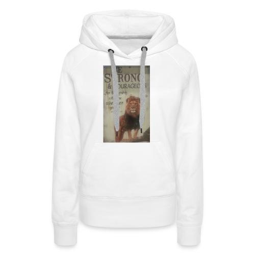 lion updates picture - Women's Premium Hoodie