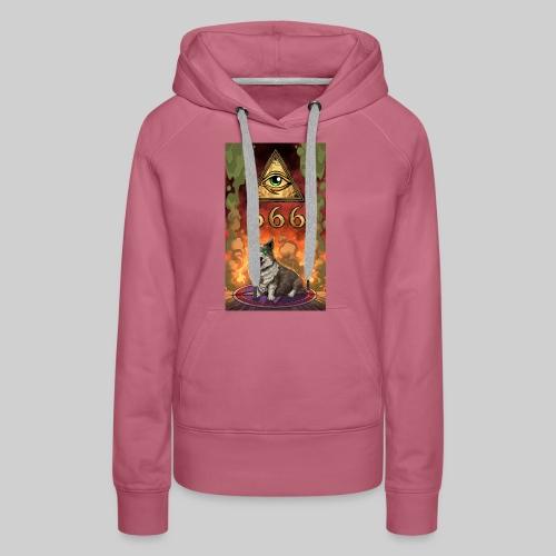 Satanic Corgi - Women's Premium Hoodie