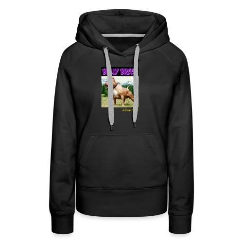 BULLY BREED PURPLE - Women's Premium Hoodie