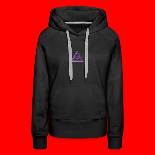 keyzzi tie-die t-shirt - Women's Premium Hoodie