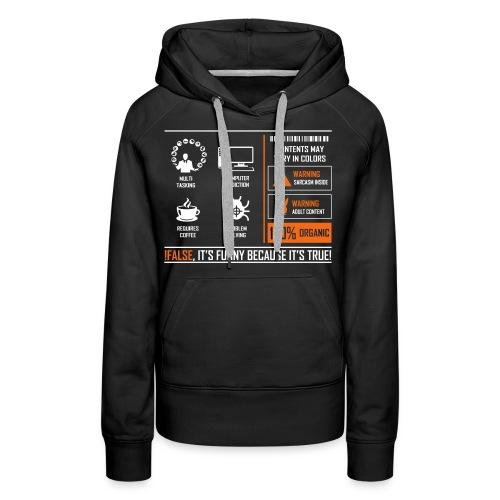 Programmer - Women's Premium Hoodie